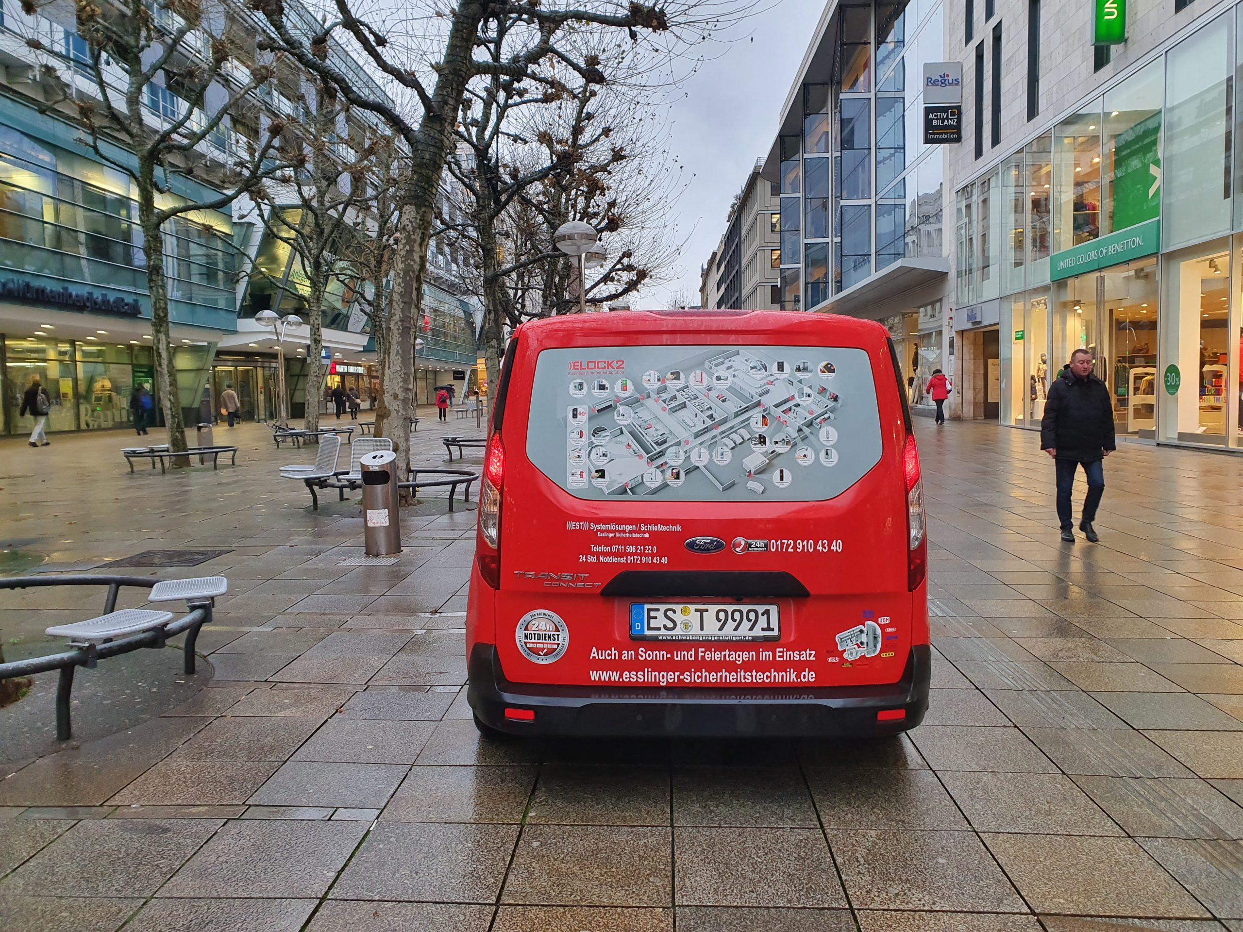 Firmen Wagen Esslinger Sicherheitstechnik